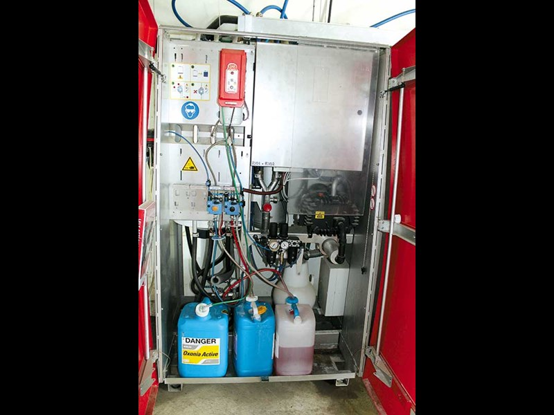 lely robotic milking system