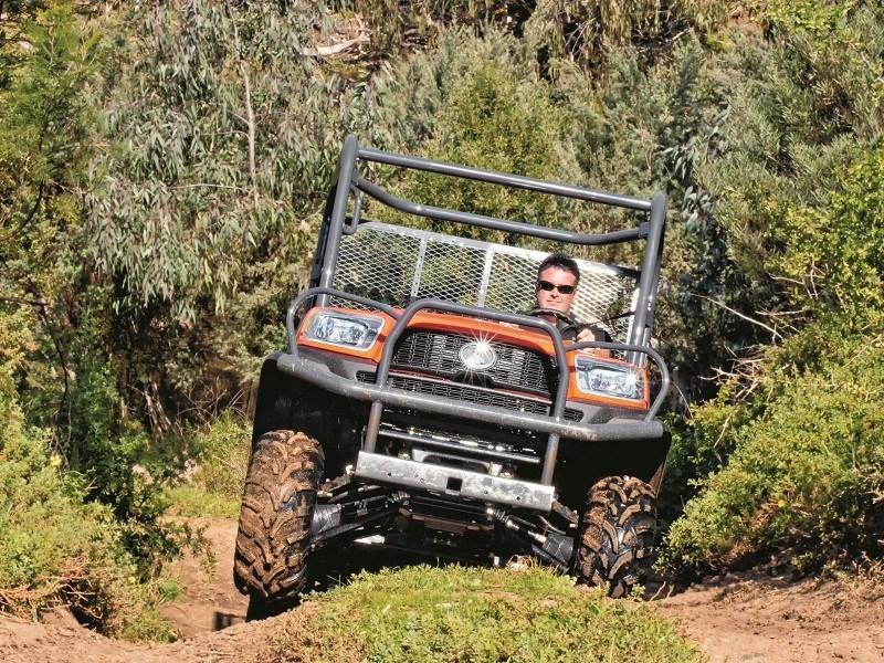 Kubota Utility vehicle review - Kubota RTV-X1120D