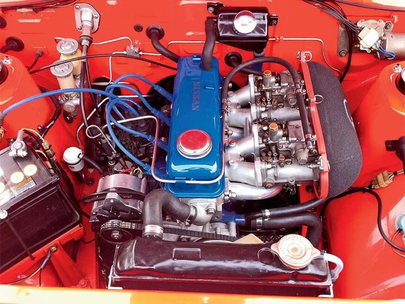 1974 Datsun 1200 SSS: Reader Ride