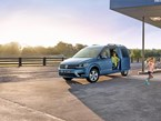 VW updates Caddy and Transporter range