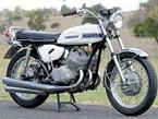 Collectable motorbike: Kawasaki H1 Mach III