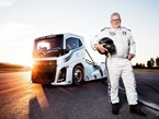 Volvo's Iron Knight breaks two speed records