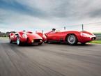 Ferrari Testa Rossa Pontoon & Maserati Tipo 54 Replicas: John Bowe