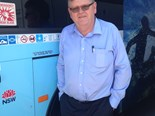 David Woodward, National Competency Manager, Volvo Bus Australia.