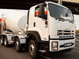 Isuzu's FYJ 2000 8x4 configuration will be on display at the Brisbane Truck Show.