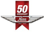 Hino Australia's 50th birthday.