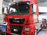The new 15-litre MAN TGX-D38 has been unveiled at the Brisbane Truck Show