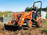 Kioti CS2610 compact tractor