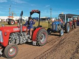The Queensland Heritage Rally 2014 attracted machinery preservationists from afar to the biennial event