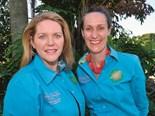 Alison Mobbs (left), QRRRWN president with vice president Corinne Butler.
