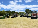 Tractors from the 2014 trans-Tasman Top Tractor Shoot Out. Who will be victorious in 2015?