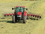 The Farmall 115U offers 99 PTO hp, semi-powershift transmission and a deluxe cab for ultimate comfort and productivity