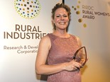 Sarah Powell is the 2015 RIRDC Rural Women's Award winner. Photo courtesy Irene Lorbergs Photography/RIRDC