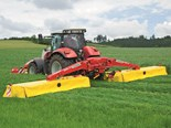 Pöttinger claims its fuel-saver Novacat S10 mower combination offers the highest performance at a very low power requirement