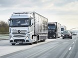 Daimler launches autonomous platooning technology