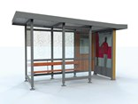 Auckland bus shelter
