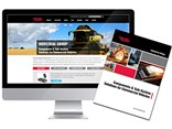 Curtiss-Wright Industrial Group's new website and brochure.