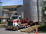 A well-functioning oversize over mass permit scheme can't come soon enough for many operators. Pic: Tasmanian Heavy Haulage