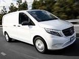 New Mercedes-Benz Vito van.