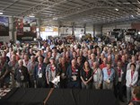 Some of the 2014 inductees at last year's Australian Road Transport Hall of Fame reunion.
