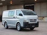 Toyota HiAce diesels have gained an engine recalibration.
