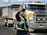Victoria Police isn't stopping any trucking customers in court.