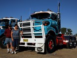 Jim and Ida Hitchcock of Nowra NSW worked together to restore their White 9000.