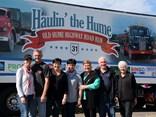 The Gunter family enjoying Haulin' the Hume: Rachel and Bruce Gunter, Liz Segreto, Alison Fonti, Jan Liddell, and Geoff and Judy Gunter.