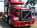 'Runaway Babe II' picked up the Best Volvo award at this year's Penrith Working Truck Show.