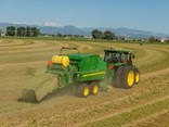 John Deere's new L series large square balers with high capacity rotor are designed to increase uptime, maximise performance and lower overall cost of operation for commercial hay operators.
