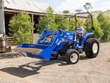 Iseki's TG6000 series tractors continues the brand's tradition of producing quality Japanese built workhorses that are comfortable and easy to operate.