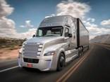 Daimler's self-driving Freightliner Cascadia
