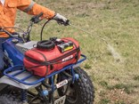 Silvan's new Redline Spotpak sprayer is designed to fit on the rear rack of a quad bike or on a small trailer for various weed control and spot spraying applications.