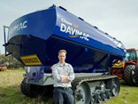 Davimac managing director and owner Shannon Mcnab says the trend towards tracked drive systems in high horsepower tractors led to the development of the new chaser bin