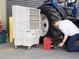 Silvan says its new Selecta FC 440 Portable Evaporative Airconditioner is the ideal solution to create comfortable workplaces including trade workshops, garages, on farm buildings and retail areas ranging from 70 to 100 square metres.