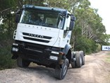 Iveco Trakker in action.