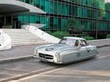 Flying vintage cars