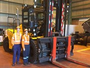 REVIEW: Sany SCP160C container forklift