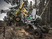 Menzi Muck A91 'spider excavator' on show at ACE EXPO