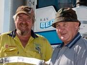 Bush trucker man: Paul 'Spot' Muggleton