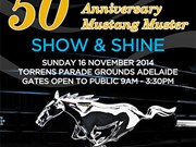 Events: 50th Anniversary Mustang Muster Show 'n' Shine 2014
