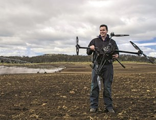 Technology is a key area farmers are looking to splash their cash on in the next 12 months. Image: Stephen Dwight