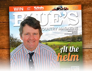 The September issue of Blue's Country Magazine is on sale now