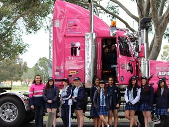 Pilbara truckie tries to raise female participation rates