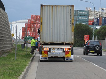 Containers trucked outside port booking systems on the rise