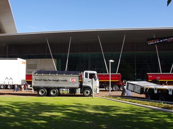Gearing up for the 2015 Perth Truck Show
