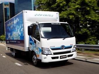 Hino hybrid enters its 10th year in Australia