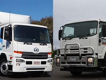 Isuzu Trucks FVR1000 versus UD Trucks PK17 280 Condor review