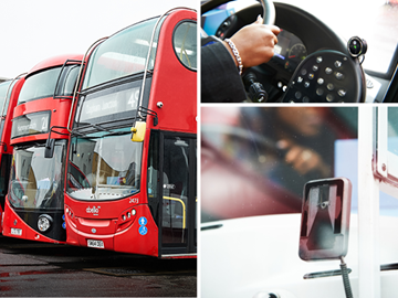LONDON OPERATOR TO FIT BUS FLEET WITH SENSOR SAFETY SYSTEM