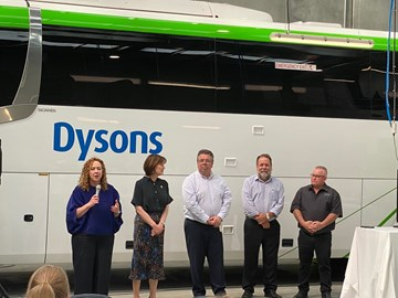 NEW BUS DEPOT FOR VICTORIA'S MACEDON RANGES